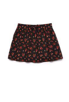Dotted Floral Skirt (Kids)   FOREVER21 #F21Girls