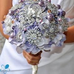 Lavender Hydrangea - Blue Petyl Bouquets #timelesstreasure