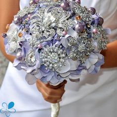 Lavender Hydrangea Bouquet