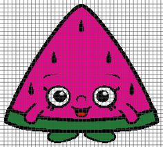 (4) Name: 'Crocheting : Melonie Pips - Shopkins