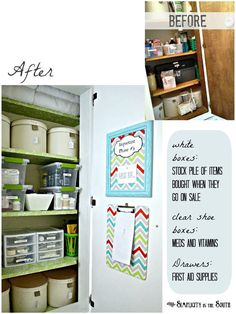 DIY Closet Organization Ideas for Messy Closets and Small Spaces. Organizing Hacks and Homemade Shelving And Storage Tips for Garage, Pantry, Bedroom., Clothes and Kitchen  |  Hall Closet Organization  |  http://diyjoy.com/diy-closet-organization-ideas