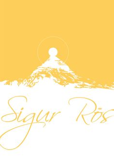 sigur ros  sun  poster by mellonfineart on Etsy, $20.00