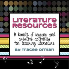 Literature Activities for ANY Novel or Story: 100+ Handouts - Includes popular Facebook Character Sketch, Creative Activities for any novel or story, Character Tags, Reading Log bookmarks, 25+ Book report ideas, eBay Symbolism/Vocabulary activity, Vocabulary Scattergories activity, Game Board activitySymbolism with Silly Bands, and more! (priced)