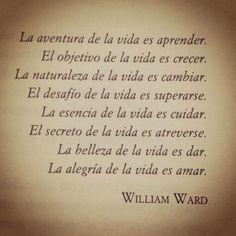Cita de Willian Ward #citawilliamward