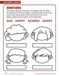 Worksheet Feelings And Emotions Worksheets Pdf resultado de imagen para feelings worksheets for kindergarten pdf pdf