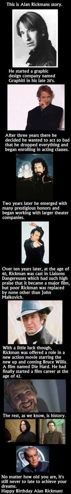 Alan Rickman!