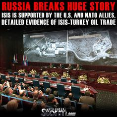 Russia Breaks Huge Story: ISIS is Supported by the U.S. and Nato Allies, Detailed Evidence Of ISIS-Turkey Oil Trade | Stillness in the Storm