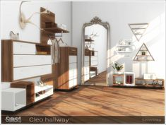 Cleo hallway furniture at Sims by Severinka • Sims 4 Updates