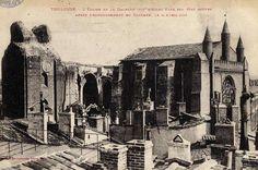 Il y a 90 ans, le clocher le plus haut de Toulouse s'effondrait
