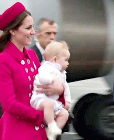 Put me down mom! #PrinceGeorge | More GIFs of the cutest baby ever: http://aol.it/1iVCLgK