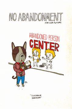 no abandonment 2014 / pen on paper + digital art  -  http://www.facebook.com/illuxtrator