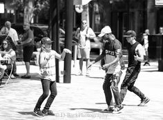 Great performance by some Break-Dancers at the OneCityPlaza.  Photo by dbackphotography // yeahTHATgreenville