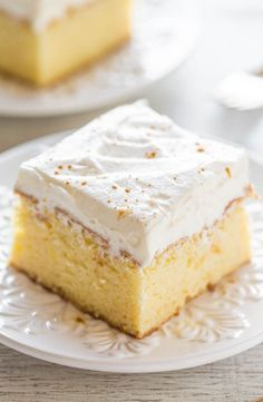 The Best Tres Leches Cake - Soft, tender, and soaked with three milks! It just melts in your mouth and it's the BEST tres leches cake ever!! You need to try this AMAZING cake!!