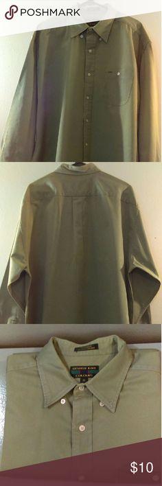 Men's dress shirt Mint condition long sleeve dress shirt Alexander Julian Shirts Casual Button Down Shirts