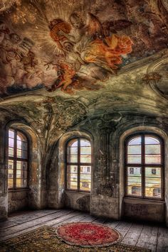 Photograph Battle of the Thrones by Pati Makowska on 500px. Abandoned Palace, Poland