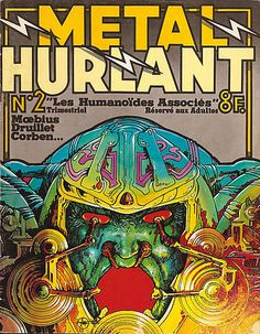 Métal Hurlant n°002