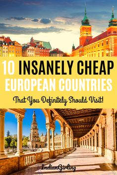 Want to travel Europe cheap but don't know which are the best destinations? From booking cheap flights, hotels, hostels, daily budgets and exactly which countries to visit, this list will help you plan your dream Europe trip on a budget! Destinations D'europe, Amazing Destinations, Travel Europe Cheap, Budget Travel, Europe Packing, Travel Checklist, Backpacking Europe, Packing Lists, France Travel