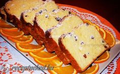 Mazsolás-narancsos kalács recept Hungarian Recipes, Hungarian Food, Ring Cake, Cottage Cheese, Sweet Bread, Scones, Sweet Recipes, Cookie Recipes, French Toast