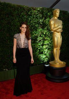 Kristen Stewart wears Talbot Runhof gown to Governors Awards