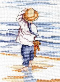 All Our Yesterdays Cross Stitch Kits are a fantastic collection by artist Faye Whittaker a gorgeous choice of cross stitch designs of bygone days and nostalgia Cross Stitch Fabric, Cross Stitch Baby, Counted Cross Stitch Kits, Cross Stitch Charts, Cross Stitch Designs, Cross Stitch Embroidery, Cross Stitching, Embroidery Patterns, Cross Stitch Patterns