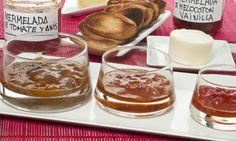 Bruno Oteiza nos enseña a preparar mermelada casera de melocotón, ciruela y tomate. Es una receta sencilla que nos ayuda a conservar la fruta durante más tiempo y que es un