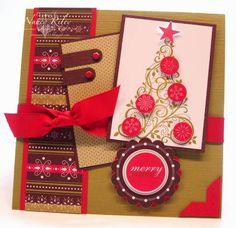 Merry xmas Libby mini coeur Tin Cadeau Joyeux Noël Stocking Filler