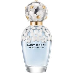 Marc Jacobs Fragrance Daisy Dream Eau de Toilette (£66) ❤ liked on Polyvore featuring beauty products, fragrance, perfume, beauty, makeup, filler, daisy fragrance, eau de toilette vs perfume, marc jacobs fragrance y fruity fragrances