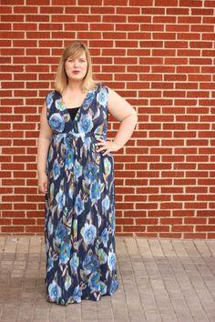 Idle Fancy -- Butterick 6226 -- Mood Fabrics Italian Jersey Maxi Dress-2