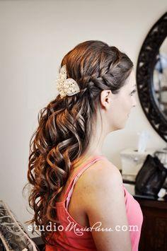 Sarah & Alycia Bridal Hair For Their Key West Destination Wedding - Studio Marie-Pierre Blog | Studio Marie-Pierre Blog