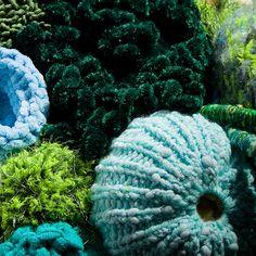 Hyperbolic Crochet Coral Reef by Simon Greig (xrrr), via Flickr