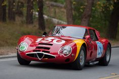 Alfa Romeo Giulia TZ2 (Chassis 750106 - 2009 Pebble Beach Concours d'Elegance) High Resolution Image