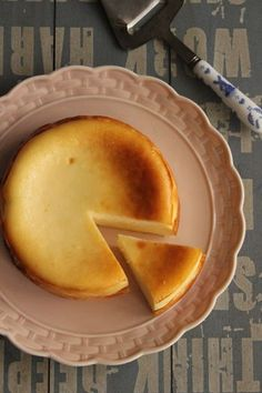 Easy Sweets, Sweets Recipes, Cooking Recipes, Fromage Cheese, Baked Cheese, Yummy Food, Tasty, Sweets Cake, Asian Desserts
