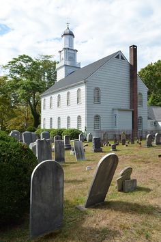 The Presbyterian Church in  Setauket, NY; where the Culper Spy Ring first began.