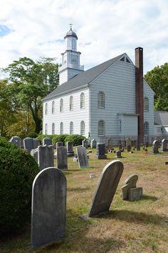 The Presbyterian Church in  Setauket, NY; where the Culper Spy Ring first began.