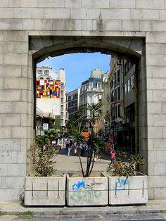 Puerta de la Cidadela, Montevideo, Uruguay