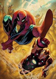 Avenging Spider-Man by Humberto Ramos