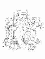 Your Free Art: Digital Clipart Scrapbook Crafts Borders Printable Stamps Cards #snowflake #snow #snowman #coloring #craft #christmas #holiday