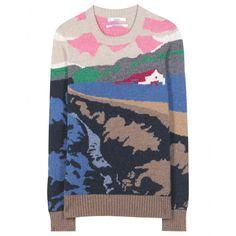 Barrie - Printed cashmere sweater - mytheresa.com