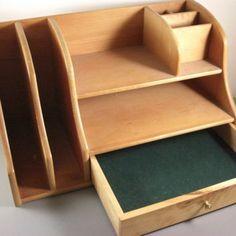 Desk Organizer Wood Best Wooden Desk Organizer Products On Wanelo