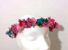 Modelo Angelica (1 disponible) #lamoradadenoa #totalgold #dorado #rosas #invitada #boda #pasador #flores