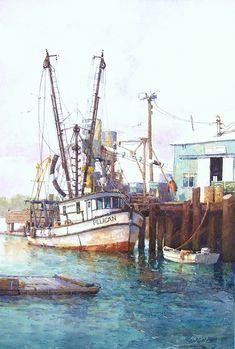 Ian Ramsay, 1948 | Plein Air /Watercolour painter | Tutt'Art@ | Pittura • Scultura • Poesia • Musica