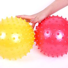 Random 3pcs/pack Thorn Ball Toys With The Skin Parent-child Interactive Games The Massage Inflatable Ball