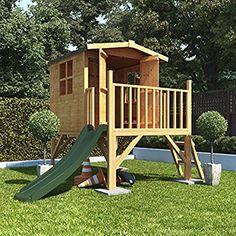 do kupienia na amazon!! :)    Mad Dash BillyOh Bunny Childrens Wooden Tower Playhouse Including Slide 4x4