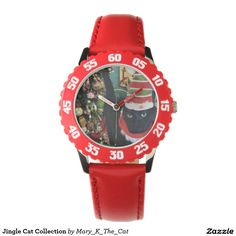 Jingle Cat Collection Wristwatches