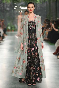 Shop Rahul Mishra Hand embroidered button down kurta , Exclusive Indian Designer Latest Collections Available at Aza Fashions Stylish Dress Designs, Stylish Dresses, Fashion Dresses, Indian Gowns Dresses, Indian Outfits, Indian Attire, Pakistani Couture, Indian Ethnic Wear, Indian Style