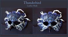 Thunderbird - Leather Mask by windfalcon.deviantart.com on @deviantART