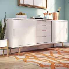 Found it at Wayfair.co.uk - Block 2 Door 4 Drawer Sideboard