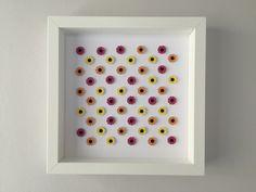 Image of Gerbera - Small - Pink/Orange/Yellow Gerbera, Something Beautiful, Orange Yellow, Framed Artwork, Floral, Flowers, Pink, Handmade, Gifts