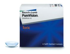 Soczewki PureVision Toric 6szt.