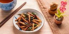 Hmyz jako jídlo Green Beans, Vegetables, Ethnic Recipes, Food, Essen, Vegetable Recipes, Meals, Yemek, Veggies